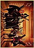 fdgdfgd Film Giapponese dei Cartoni Animati Dragon Ball z Naruto Famiglia Pittura Decorativa Poster casa Arte Decorativa Pittura su Tela Decorazione