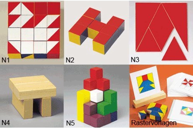 Nikitin Basispaket Spiele N1-N5 + Rastervorlage