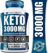 Keto Pills - BHB Professional Dietary Supplement - Made in USA - Ketosis Supplement to Burn Fast - Appetite Suppressant - Best Ketogenic Burner for Women & Men