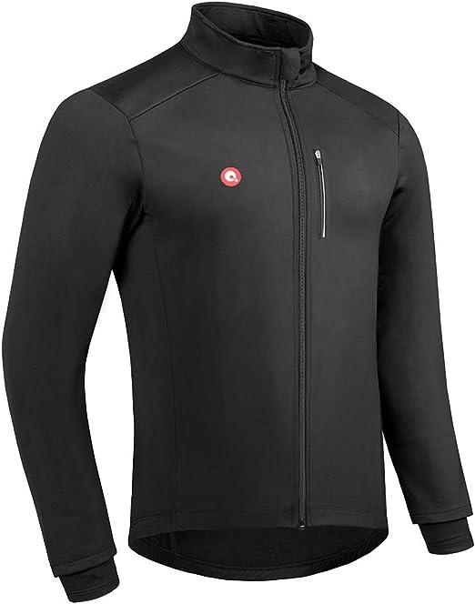 Przewalski Cycling Bike Jackets for Men Winter Thermal Running Jacket Windproof Breathable Reflective Softshell Windbreaker