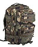 Mil-Tec MOLLE Tactical Assault Backpack - Large 36 Litre (Woodland)
