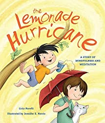 The Lemonade Hurricane mindfulness book for kids