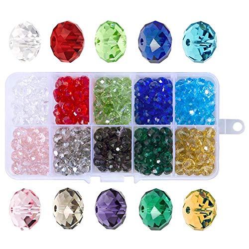 Perles à facettes 8 mm
