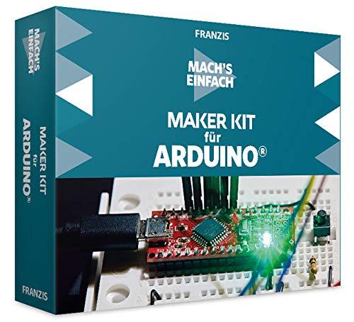 Mach's einfach: Maker Kit für Arduino: ORIGINAL ARDUINO(TM) UNO; LC-Display, 53 Bauteile