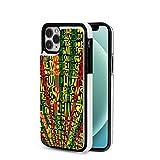 Custodia iPhone 12 Reggae Art Rasta Songs Ultra Sottile Anti-Graffio e Resistente