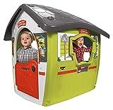 Spielhaus für Kinder ab 2 Jahren mit 2 Türen und Fenstern Forest House
