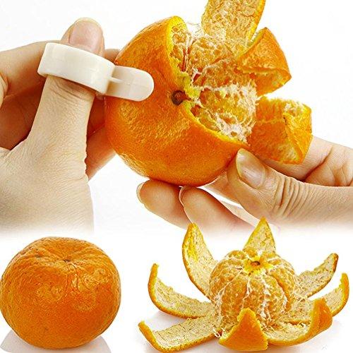 WYFC (2) kreativ mit Orangenhaut Orange schälen die Pomelo schälen Mango. geschält