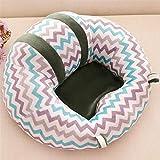 Silla mecedora para niños Wbdd con respaldo para asiento de bebé, de algodón,...