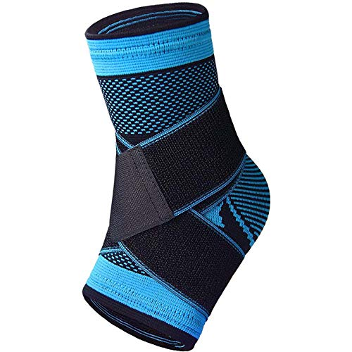 Ankle Brace Ankle Support for Women and Men Adjustable Ankle Sleeve Arch Brace Support amp Foot Stabilizer Ankle Wrap Protect Against Ankle Sprains or Swelling Effective Joint Pain Foot Pain Relief from Heel Spurs (single)