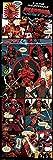 Pyramid Puerta - Poster con diseño Deadpool Panels, 53 x 158 cm