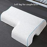 Almohada de memoria para pareja, núcleo de almohada antiestrés para el brazo,...