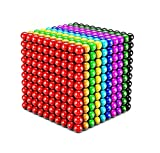 5 Millimeter M-agnetic Balls,1000 Pcs Multicolour M-agnet Balls Building Blocks Brain Training Intelligence Learning Toys for Kids