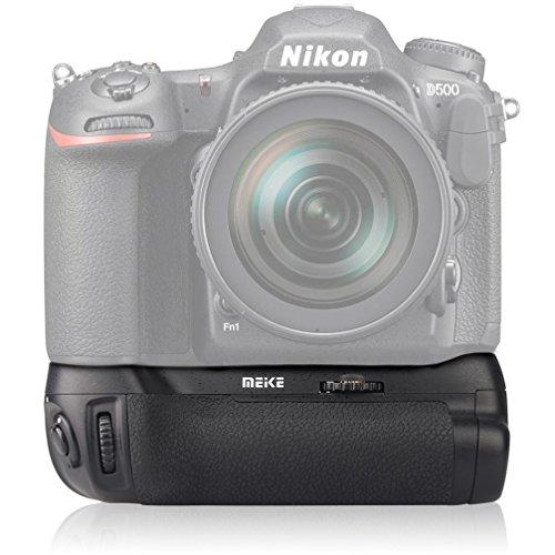 Impulsfoto Meike Poignée d alimentation verticale pour Nikon D500 comme le MB-D17