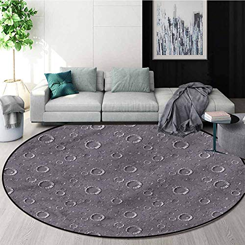 Best Review Of RUGSMAT Space Area Silky Smooth Rugs,Asteroid Surface Crater Study Computer Chair Cus...