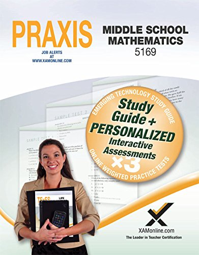 Praxis Middle School Mathematics 5169 Book and Online