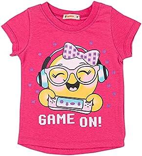 Carrot T-Shirt For Girls - Fuschia - 2725517225866