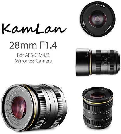 Kamlan 50mm F1 1 Aps C Große Blende Manueller Fixfokus Kamera