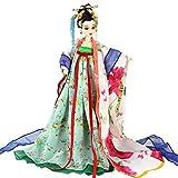 Angelay-Tian Coleccionables Decorativos, Rhyme Oriental Antiguo Traje Muñeca Movia Movia Princesa Cumpleaños, Regalo for niños 35 cm