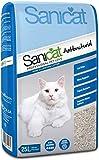 Sanicat Arena Absorbente antibacteriana para Gatos, 25 litros