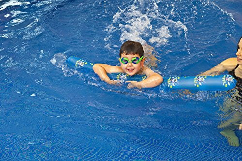 Zoggs Kinder Poolnudel Zoggy Noodle Schwimmnudel, Blau, 115 cm