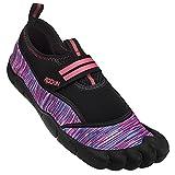 Rockin Footwear Unisex-Kid's Rockin Aqua Bay Foot Water Shoe, Pink, US Size: 1 Regular US Big Kid