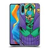 Head Case Designs Licenciado Oficialmente The Joker DC Comics Nuevo 52 Disfraz Arte del Personaje Carcasa de Gel de Silicona Compatible con Huawei P30 Lite/Nova 4e