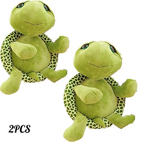 WXXW Teddybär Plüschtiere Schildkrötenpuppe 20Cm Plüschtier Klein with Name Personalised Various Designs Liebhaber 2Pcs