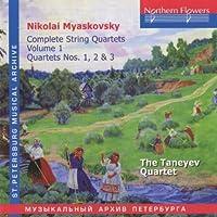 N. Miaskovsky - Complete String Quartets 1 by TANEYEV QUARTET (2005-01-01)