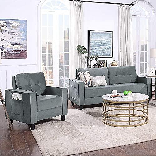 Adorno Puede entregar en días septenarios, sillas de Oficina o de Lugar indestructibles, Individuales y para Tres Personas Son sillones modulares modulares Simples, Muebles de sofá de es