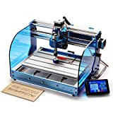 SainSmart Genmitsu CNC Router Machine 3018-PROVer with GRBL Offline Control, Limit Switches & Emergency-Stop, XYZ Working Area 300 x 180 x 45mm
