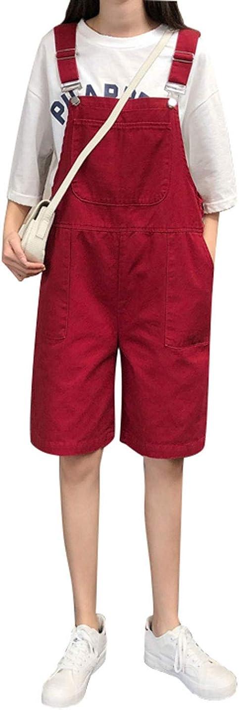 PUWEI Ranking TOP9 Women Plus Size Loose Suspender Jeans Fashion Short Denim Overalls