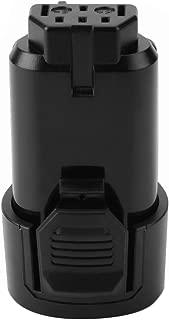 Hanaix 12V 2.5Ah Li-ion Replacement Battery for Ridgid R82007 AC82008 R82009 R82048 R82049 AC82049 130188001 130219001 130446011 Rigid 12v Battery