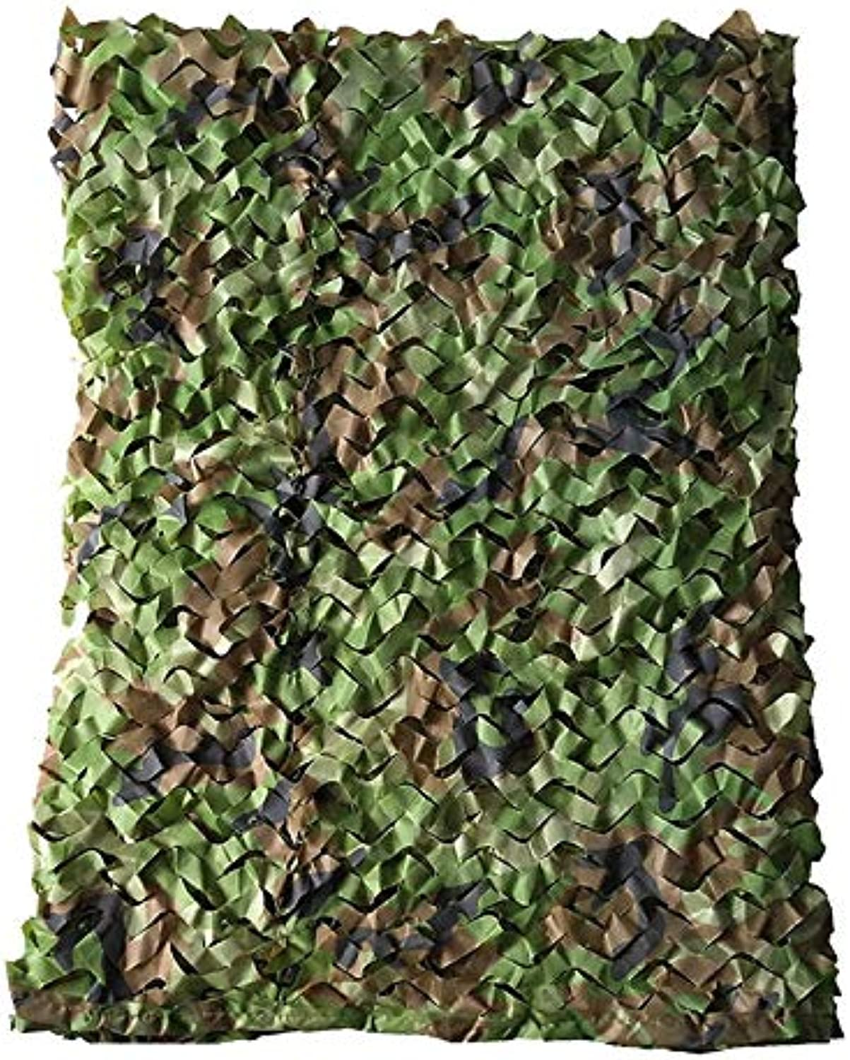 2m×3m Woodland Camouflage Net Field Camouflage Net Camping Army Hunting Shooting Sunscreen Net (Size   6m×6m)