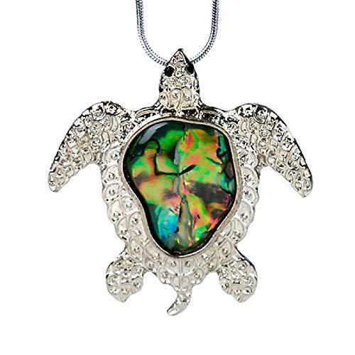 TUDUDU 1 Pieza de Conchas Colgantes de mariscos Naturales Que reflejan la luz Colorida Piedra de Cristal nórdica meditación Regalo de Fiesta de Vacaciones