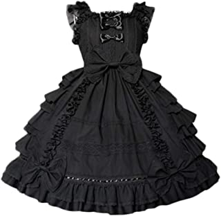 Girls Sweet Lolita Dress Princess Lace Court Skirts Cosplay Costumes