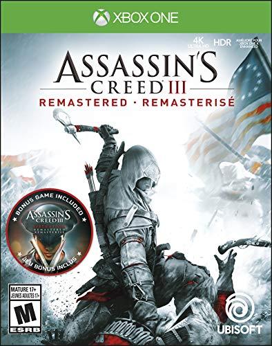 Ubisoft Assassin's Creed III Remastered, XBox One videogioco Basic Inglese