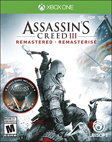 Assassin's Creed III: Remastered for Xbox One [USA]