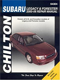 Subaru Legacy & Forester 2000-2006 (Haynes Repair Manuals)