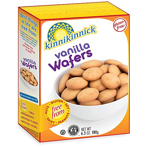 Kinnikinnick Vanilla Wafer, 6.3 Ounce (Pack of 6)