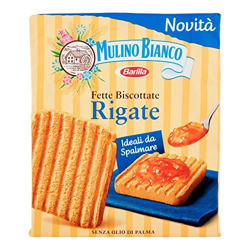 Mulino Bianco Fette Biscottate Rigate, 315g