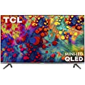 "TCL 55R635 55"" 4K Ultra HDR Smart QLED Roku TV"
