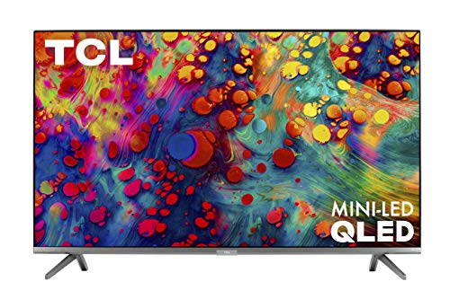 TCL 55-inch 6-Series 4K UHD Dolby Vision HDR QLED Roku Smart TV