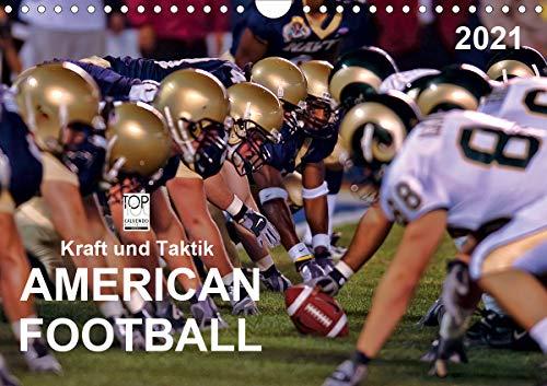 Kraft und Taktik - American Football (Wandkalender 2021 DIN A4 quer)