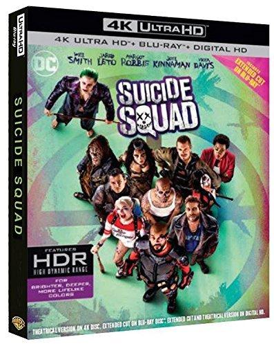 Suicide Squad (Blu-Ray 4K Ultra HD+Blu-Ray+Digital Copy) [Blu-ray]