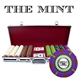 Claysmith Gaming 500-Count 'The Mint' Poker Chip Set in Aluminum Case,...