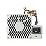 QUETTERLEE Replacement New 240W Power Supply for HP Elite 8000 8100 8200 SFF Pro 6000 6005 6200 Compatible Part Number CFH0240EWWB 611481-001 613762-001 611482-001 508151-001 613763-001 503375-001
