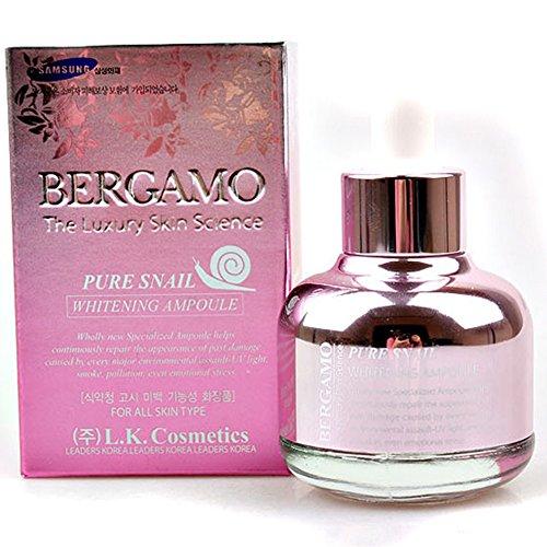 Bergamo Luxury Skin Science - Serum d'escargot - Escargot pure