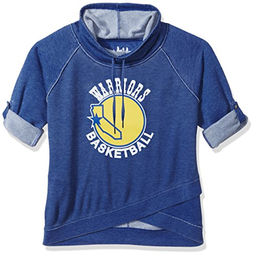 Touch by Alyssa Milano NBA Golden State Warriors Wildcard Top Plus, 4X, Royal