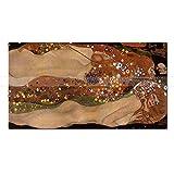 JXFFF 3D HD Printing Reproducción de Pintura al óleo Superior Serpiente de Agua II, Pintura al...