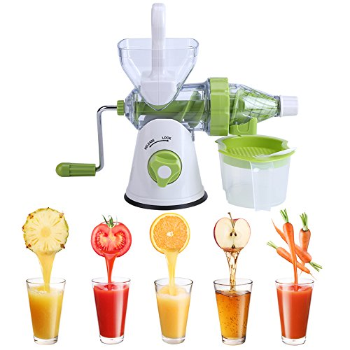 Juicer Machine, multifunctionele handmatige oranje fruit/groente Juicer Machine keuken Fresh Juice Extractor